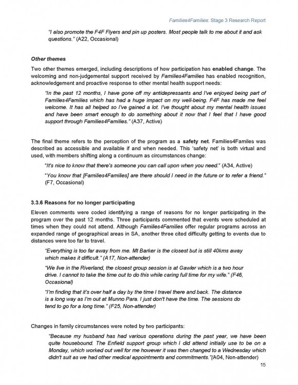Families4Families Stage 3 Research Report_Page_19