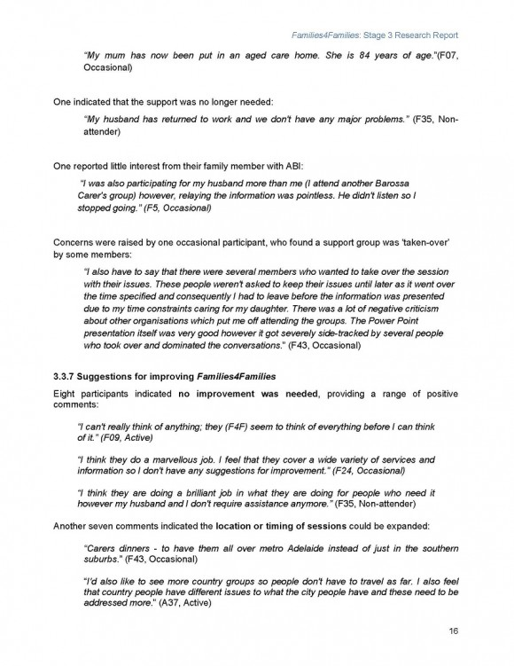 Families4Families Stage 3 Research Report_Page_20